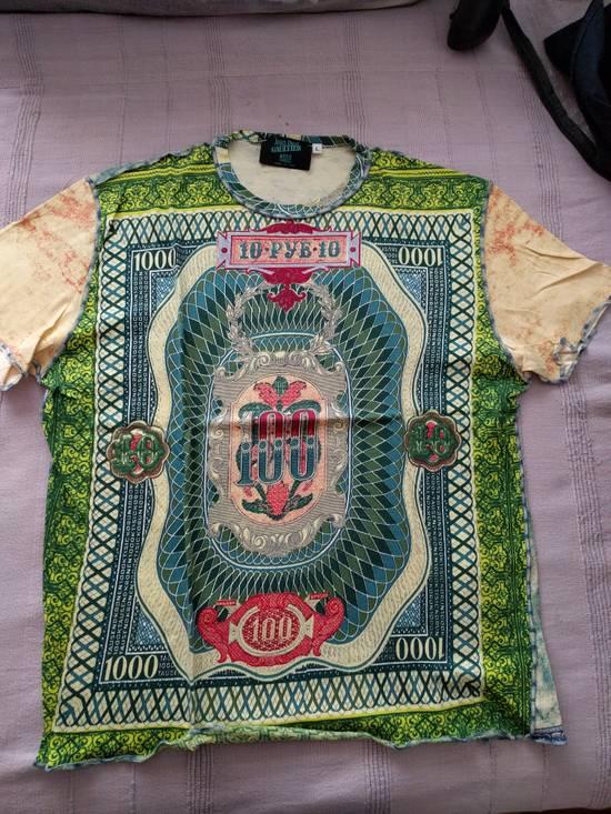 Jean Paul Gaultier banknotes tshirt Size US L / EU 52-54 / 3