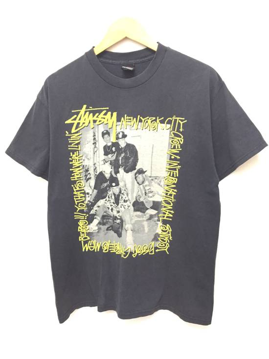 Vintage A piece of History picture New York Crew tee Size US L / EU 52-54 / 3 - 2