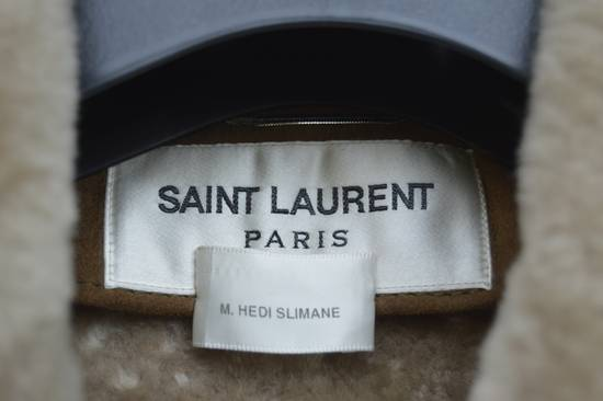 Saint Laurent Paris Hedi's Personal Suede and Shearling Coat Size US S / EU 44-46 / 1 - 6