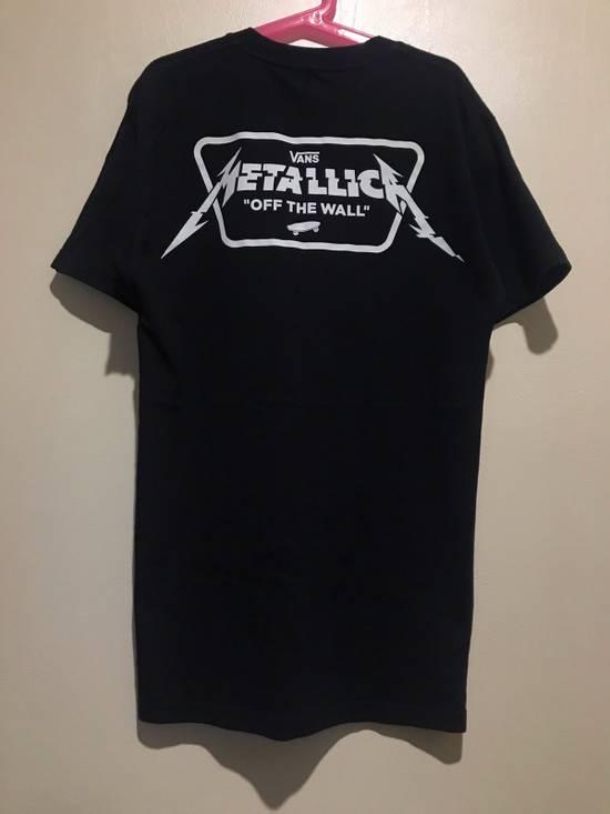 metallica vans t shirt