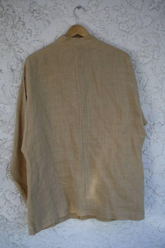 Issey Miyake Linen Mao Jacket Size US M / EU 48-50 / 2 - 2