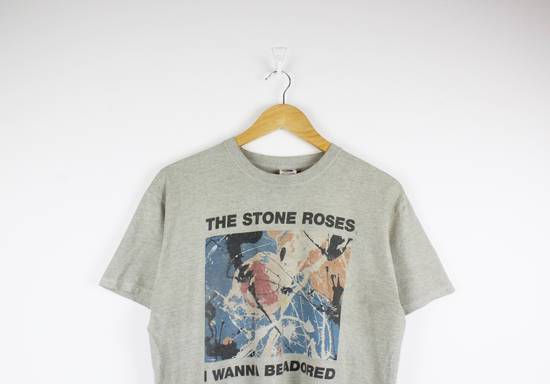 Vintage Vintage The Stone Roses I Wanna Be Adored Graphic T-shirt Size US M / EU 48-50 / 2 - 1