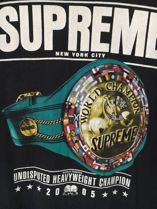 Supreme Supreme 2005 World Heavyweight Champions Tee Size US L / EU 52-54 / 3 - 2