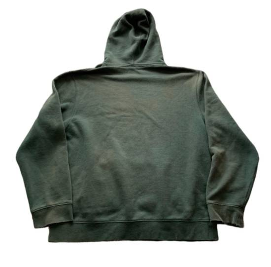 Vintage Vintage 90s Stussy Hoodie Green Distressed Made In USA Size US L / EU 52-54 / 3 - 1