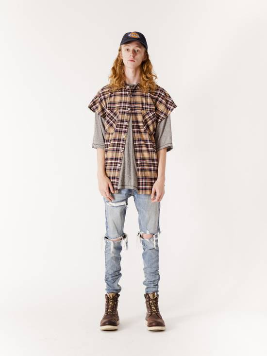Fear of God FEAR OF GOD Second Batch Vintage Indigo Selvedge Denim Jeans Indigo Size US 30 / EU 46 - 1