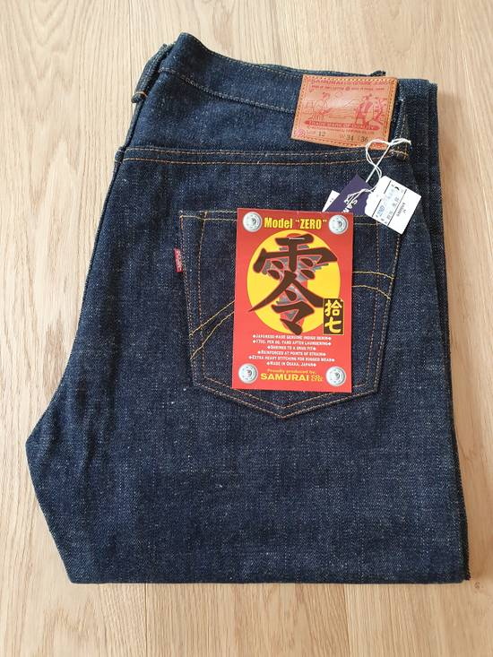 Samurai Jeans S5000VX w old arcs+tab Deadstock Size US 34 / EU 50