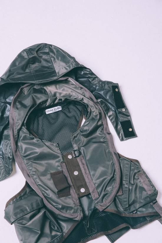 Stone Island Opaque Nylon Tela 30GR Down Jacket w/ Diagonal Cover Size US L / EU 52-54 / 3 - 7