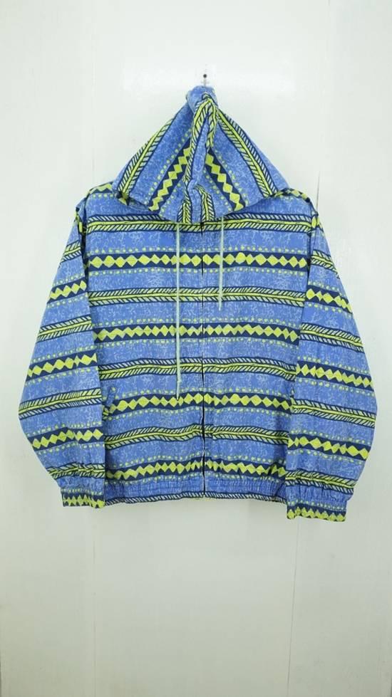 Japanese Brand Vintage Surf Festish California Striped Cotton Hooded Jacket Surf Skate Size US L / EU 52-54 / 3