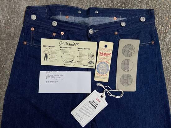 "Levi's Vintage Clothing 501XX ""Golden Handshake"" 1915 Size US 34 / EU 50 - 2"