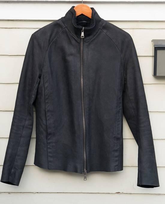 10sei0otto Oiled Calf Leather Jacket Size US M / EU 48-50 / 2