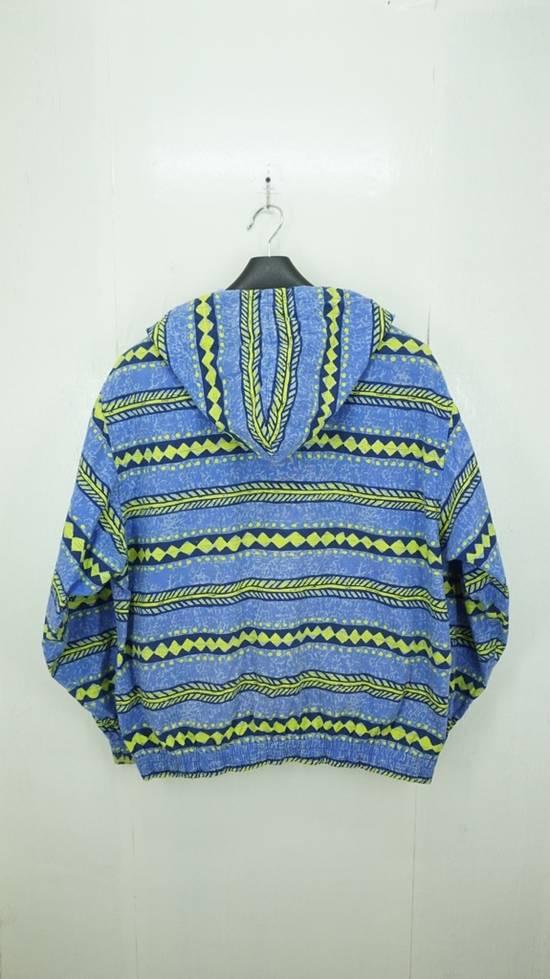 Japanese Brand Vintage Surf Festish California Striped Cotton Hooded Jacket Surf Skate Size US L / EU 52-54 / 3 - 1