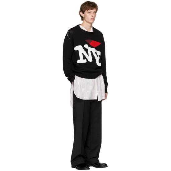 Raf Simons I Heart NY Sweater (Black) Size US M / EU 48-50 / 2 - 3