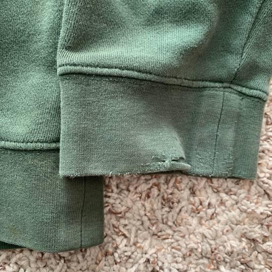 Vintage Vintage 90s Stussy Hoodie Green Distressed Made In USA Size US L / EU 52-54 / 3 - 4
