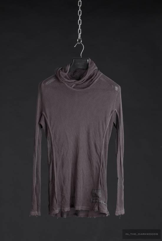 Julius = last drop = 2009SS mesh knit cotton hooded top Size US S / EU 44-46 / 1 - 1