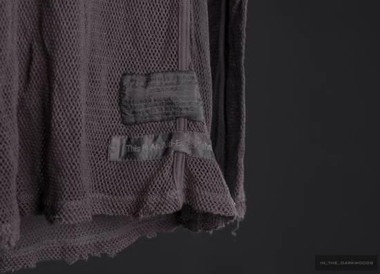 Julius = last drop = 2009SS mesh knit cotton hooded top Size US S / EU 44-46 / 1 - 3