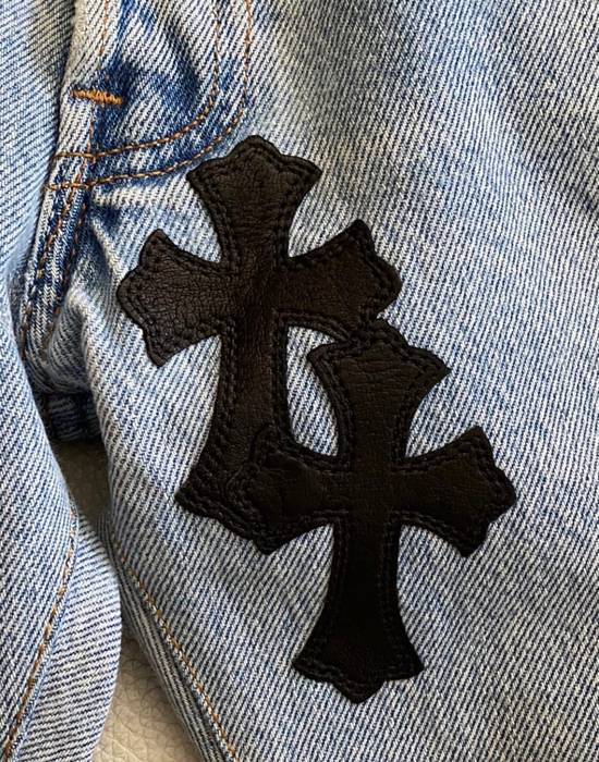 Chrome Hearts Chrome hearts cross patch denim jeans Size US 34 / EU 50 - 4