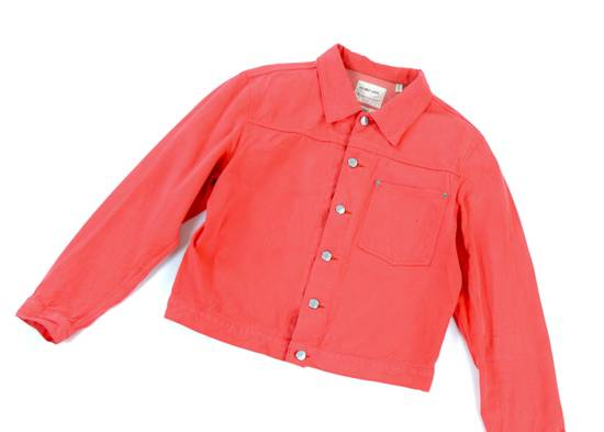 Helmut Lang Raw Silk Denim Jacket Size US M / EU 48-50 / 2 - 2