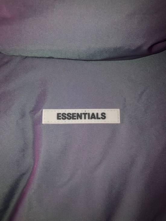 Pacsun Fear of god essentials puffer jacket-iridescent Size US L / EU 52-54 / 3 - 5