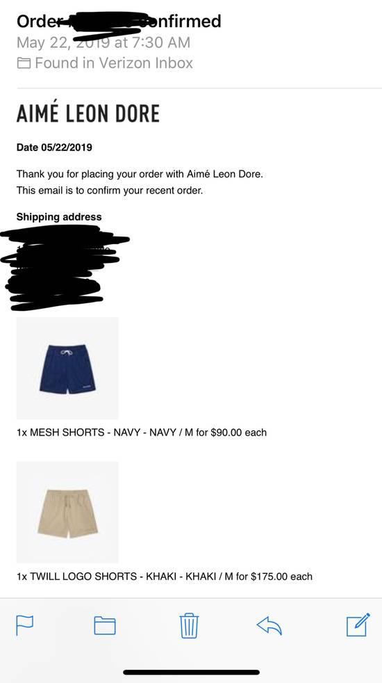 Aime Leon Dore Aime Leon Dore Mesh Shorts Size US 32 / EU 48 - 5