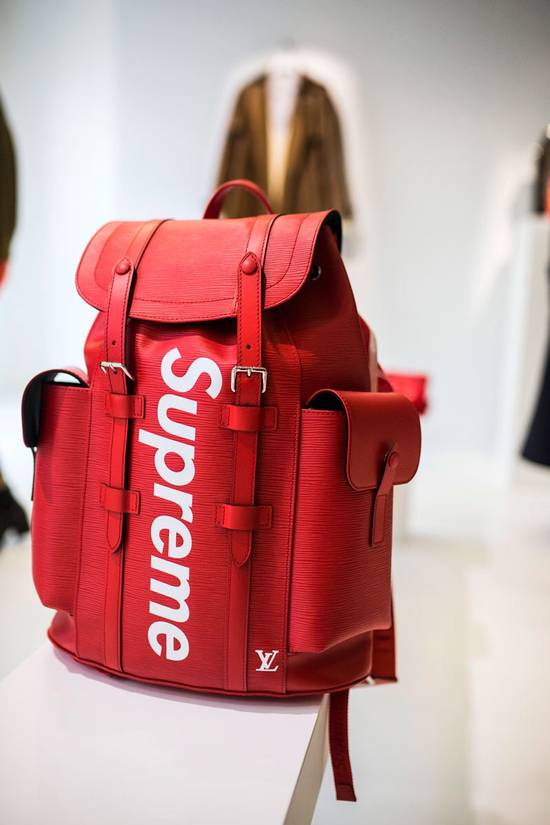 Supreme Supreme Louis Vuitton Christopher Bag Red Size ONE SIZE