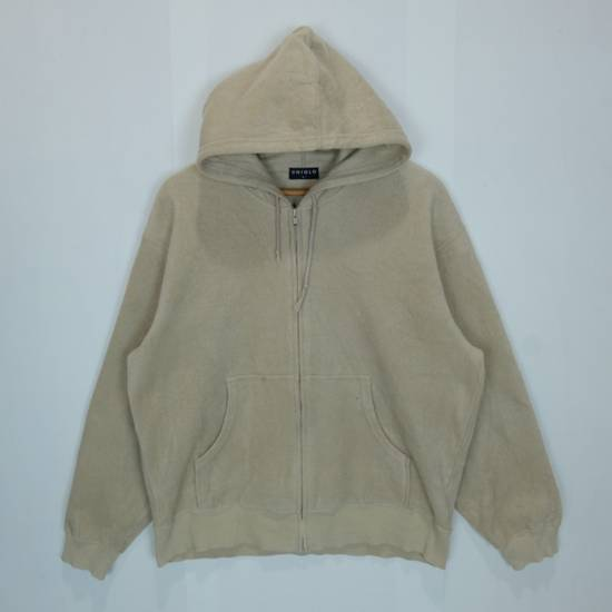 Uniqlo Vintage 90's UNIQLO Zipper Up Fleece Hoodie Sweatshirts Size US L / EU 52-54 / 3