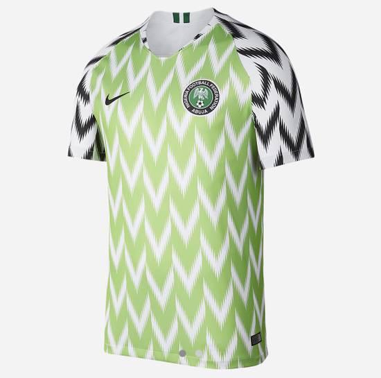 Nike Nigeria Football Soccer World Cup Jersey shirt 2018 Size US S / EU 44-46 / 1 - 5