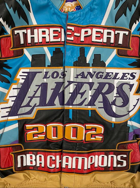 Jeff Hamilton Los Angeles Lakers x Jeff Hamilton 2002 Threepeat Kobe Size US L / EU 52-54 / 3 - 1