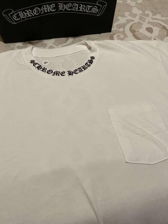 Chrome Hearts CH Neck Collar Logo Fuck You Pocket T-Shirt Size US XL / EU 56 / 4