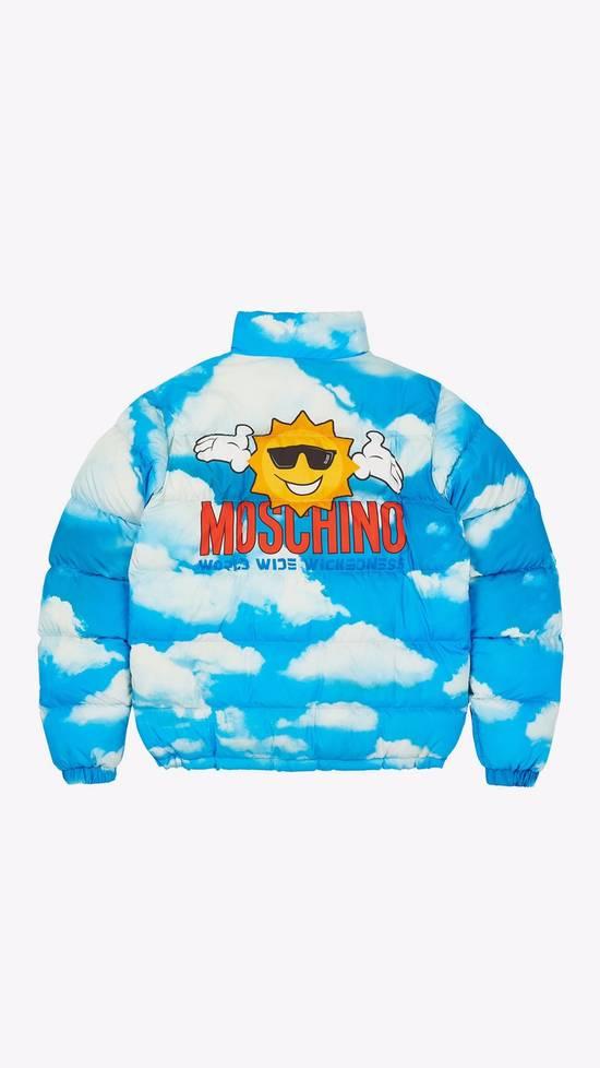 Palace Palace x Moschino Blue Cloud Puffer Jacket Size US M / EU 48-50 / 2