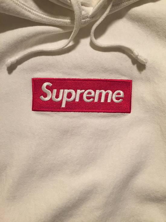 Supreme Box Logo Hoodie - White Size US M / EU 48-50 / 2 - 1