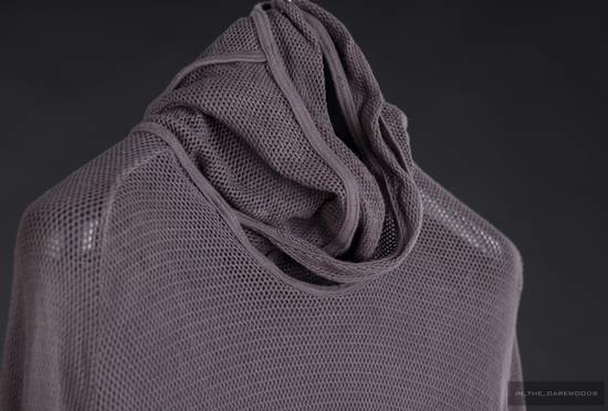 Julius = last drop = 2009SS mesh knit cotton hooded top Size US S / EU 44-46 / 1 - 2