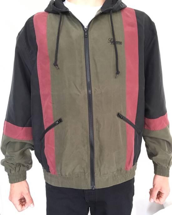 Supreme Silk Hooded Jacket - Black Size US L / EU 52-54 / 3 - 1
