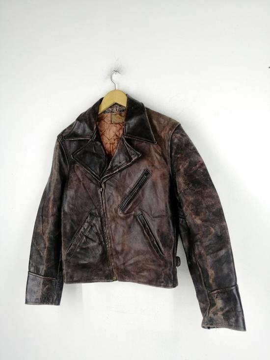 Vintage Vintage Genuine Househide All Weather Garment Jacket Size US M / EU 48-50 / 2 - 1