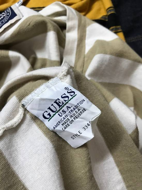 Vintage Vintage 90s Guess Jeans U.S.A. Embroidered Striped t shirt Asap Rocky Style Size US M / EU 48-50 / 2 - 8