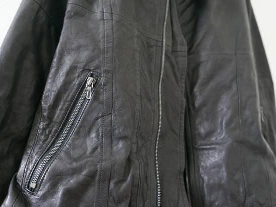 Julius Julius Black Asymmetric Zipped Leather Jacket Size US S / EU 44-46 / 1 - 5