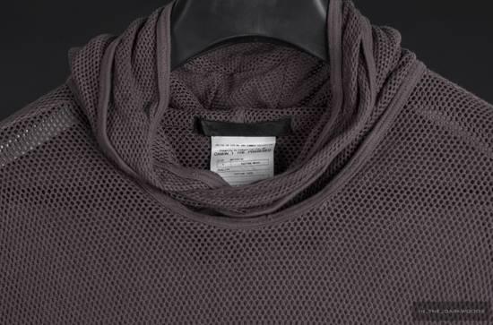 Julius = last drop = 2009SS mesh knit cotton hooded top Size US S / EU 44-46 / 1 - 4
