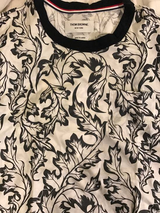 Thom Browne Thom Browne floral print tshirt Size US L / EU 52-54 / 3