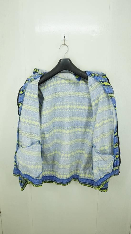 Japanese Brand Vintage Surf Festish California Striped Cotton Hooded Jacket Surf Skate Size US L / EU 52-54 / 3 - 4