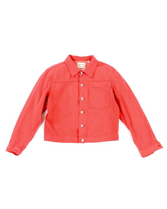 Helmut Lang Raw Silk Denim Jacket Size US M / EU 48-50 / 2