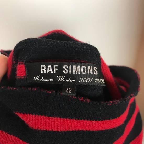 Raf Simons striped patched turtleneck aw 01 02 riot Size US M / EU 48-50 / 2 - 4