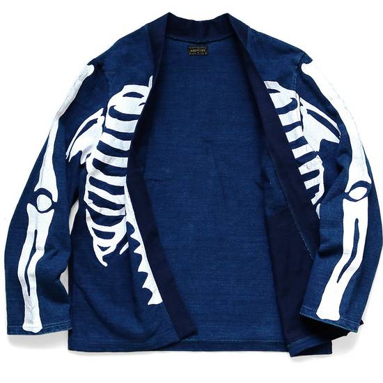 Kapital KAPITAL IDG indigo kakashi cardigan kimono bone Japan 2 Size US M / EU 48-50 / 2 - 1