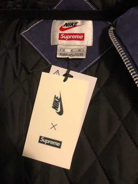 Supreme Supreme Nike Double Zip Quilted Work Jacket Black ...