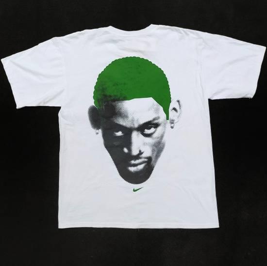 Nike Vintage Nike x Dennis Rodman big logo green head shirt Size US L / EU 52-54 / 3