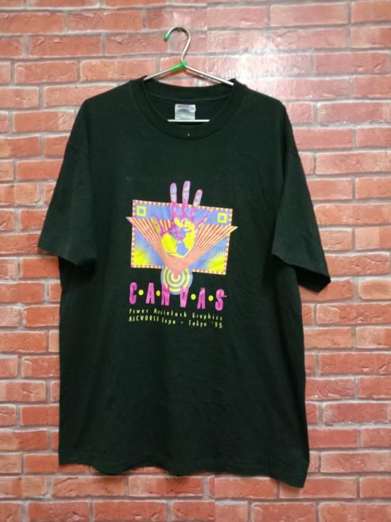 Vintage VTG '95 Single Stitch Apple Macintosh t-shirt Size US L / EU 52-54 / 3