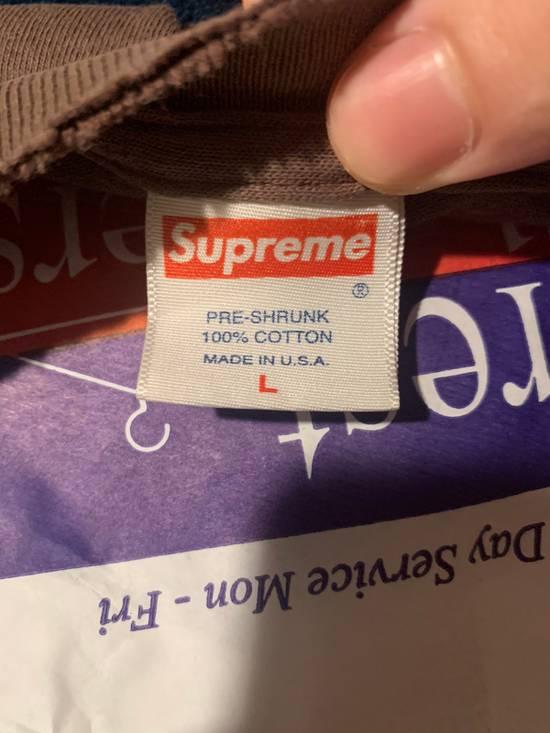 """Supreme Supreme """"2003 brown on brown"""" Box Logo Tee (Smokepurpp owned Size US L / EU 52-54 / 3 - 2"""