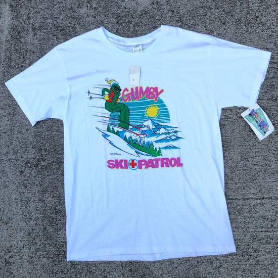 Vintage Vintage Gumby Ski Patrol Cartoon T Shirt 80s Village Mews Size US XL / EU 56 / 4