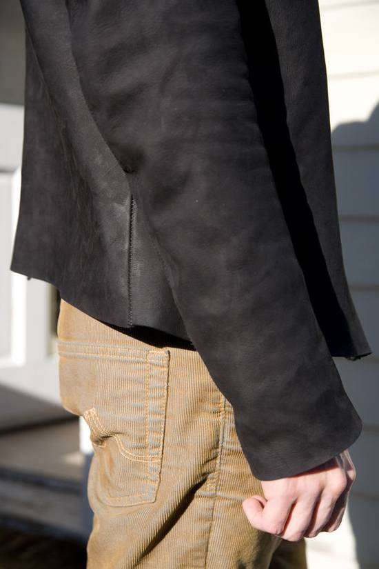 10sei0otto Oiled Calf Leather Jacket Size US M / EU 48-50 / 2 - 1