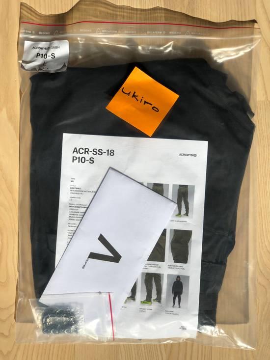 Acronym Acronym P10-S Black size L mint condition Size US 34 / EU 50