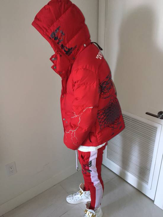 Off-White RED DOWN JACKET Size US L / EU 52-54 / 3