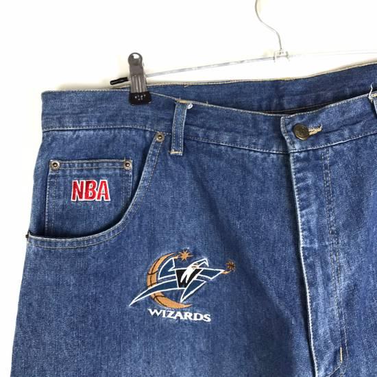 Vintage 💥NEED GONE💥BD7 Vintage All Team NBA Fullprint Denim Pants Size US 38 / EU 54 - 3
